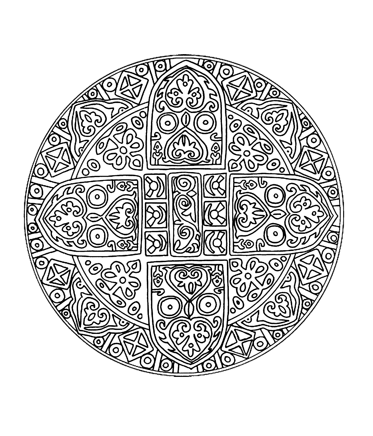 mandalas to color for adults free mandala for to print 1 malas adult coloring mandalas for to adults color