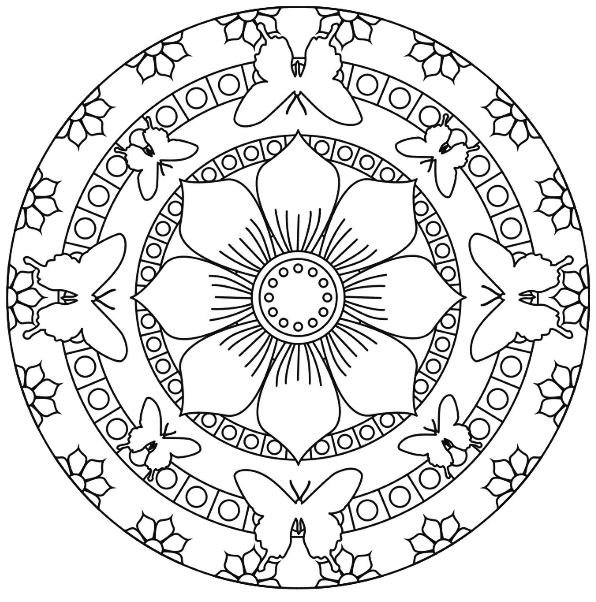 mandalas to color for adults free printable adult floral mandala coloring page 71 for adults mandalas color to
