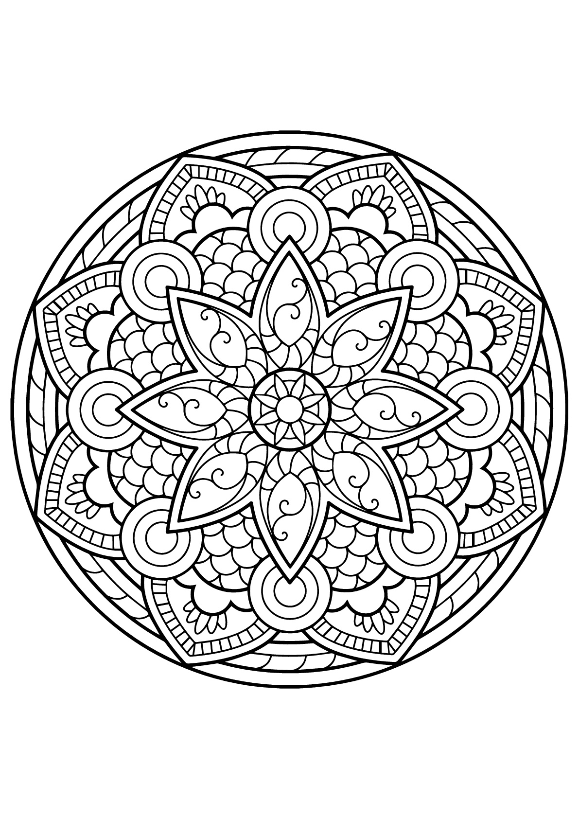 mandalas to color for adults mandala from free coloring books for adults 26 malas adults mandalas to for color