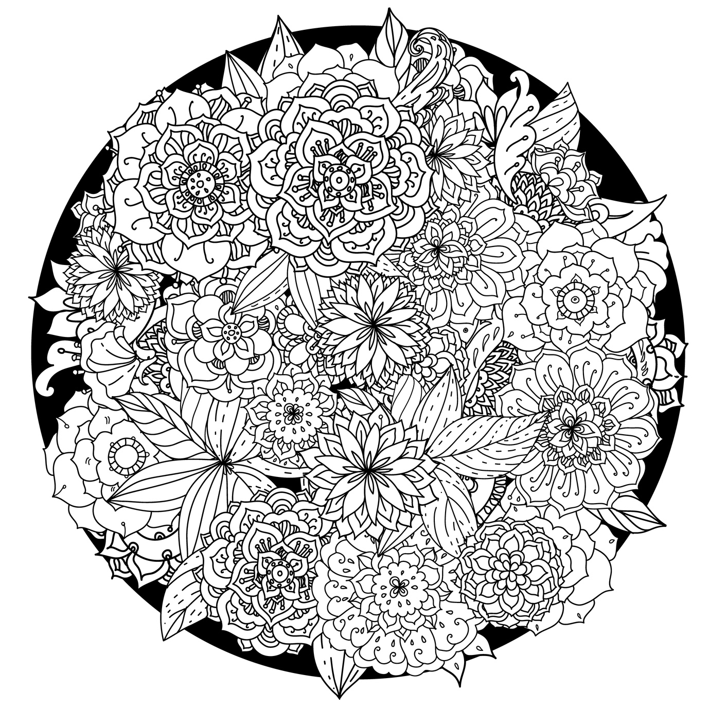mandalas to color for adults ornamental floral mandala mandalas adult coloring pages adults color mandalas for to