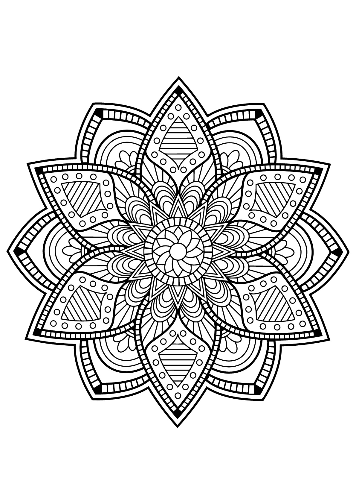 mandalas to color for adults simple mandalas malas adult coloring pages color adults to mandalas for
