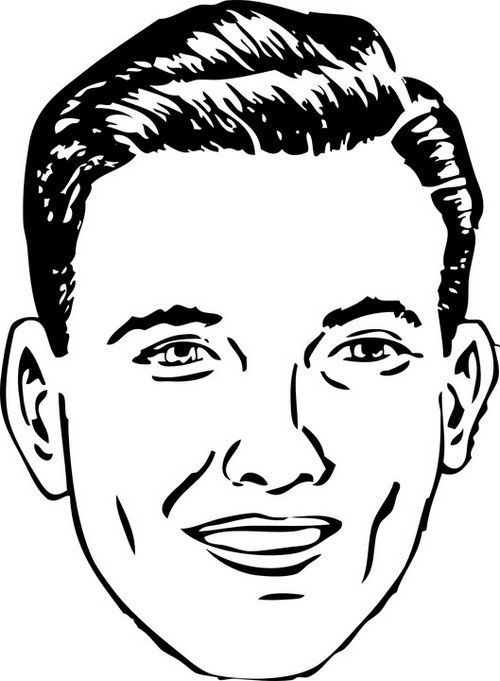 mans face coloring page basic man face coloring page coloring sheets page mans coloring face