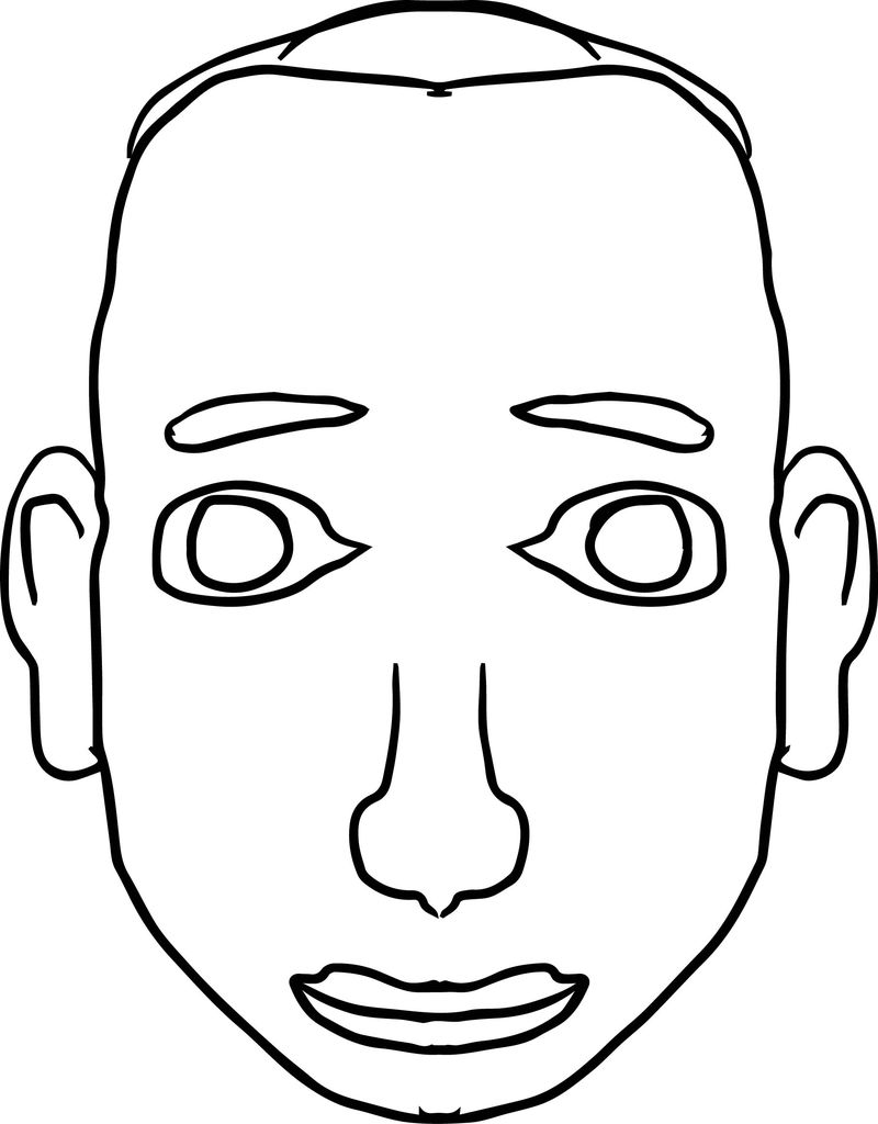 mans face coloring page face coloring pages coloring pages to download and print coloring page mans face