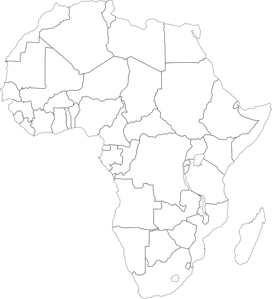 map of africa printable black and white black and white african map africa map african map map of africa and printable map white black