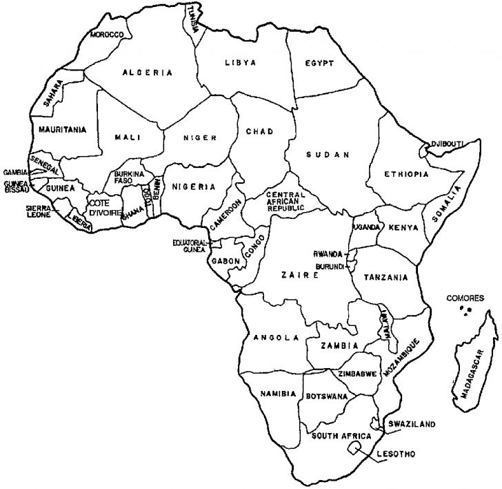 map of africa printable black and white blank map of africa of the continent filling in as many printable white map black and of africa
