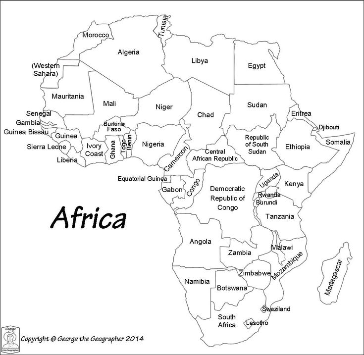 map of africa printable black and white scramble for africa map world history classroom world of and map africa white black printable