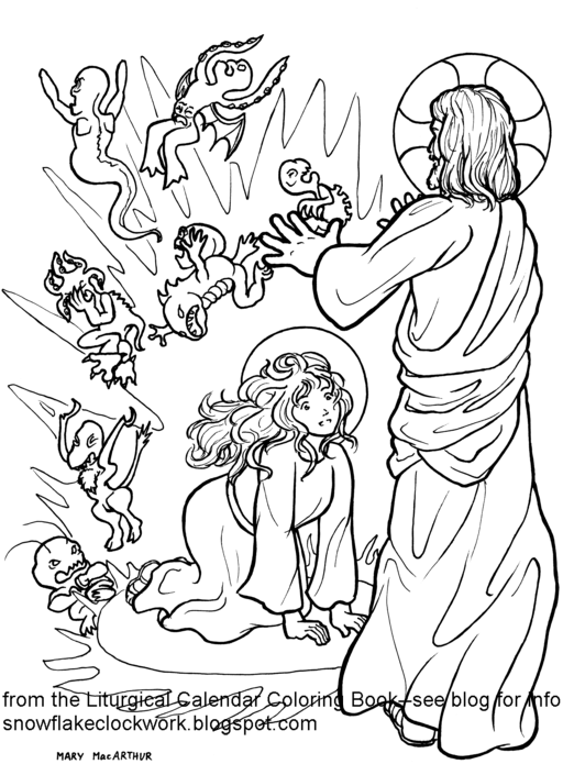 mary magdalene coloring page 1000 images about coloring page on pinterest color by coloring magdalene mary page
