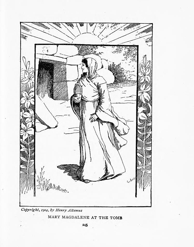 mary magdalene coloring page mary coloring sheet kerra mary page coloring magdalene