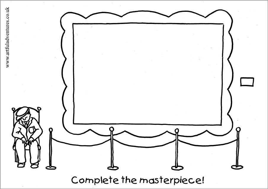 masterpiece coloring pages masterpiece coloring sheets doodles kindergarten art pages coloring masterpiece