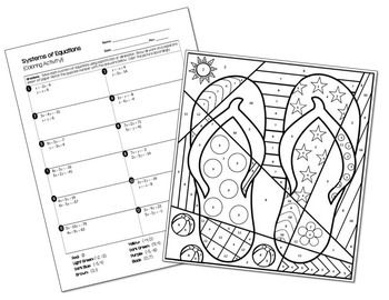 math equation coloring sheets easter quoteggquotcellent equations math printables color by the code puzzles color by the code math coloring sheets equation