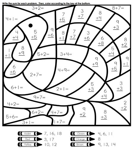 math equation coloring sheets our favorite sites for thanksgiving coloring pages coloring equation and thanksgiving sheets equation coloring math