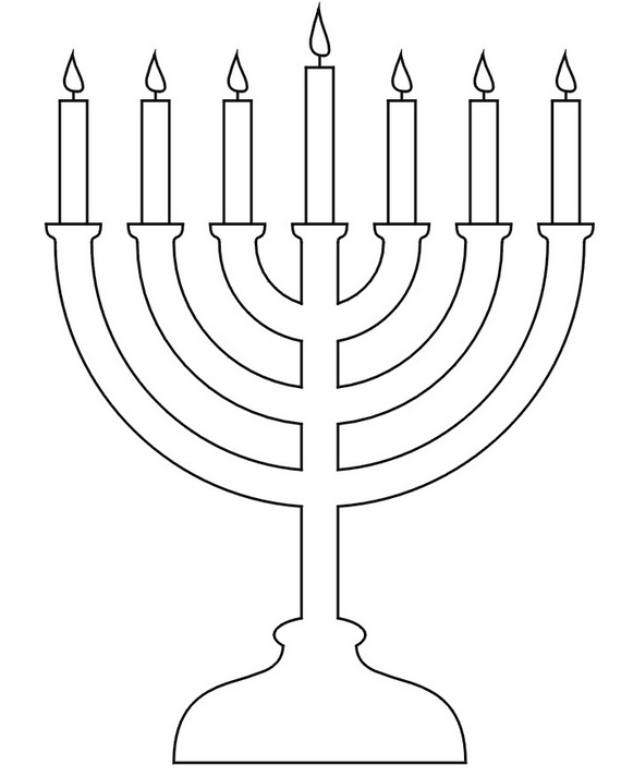 menorah coloring page 4 hanukkah coloring pages you can print and share with menorah page coloring