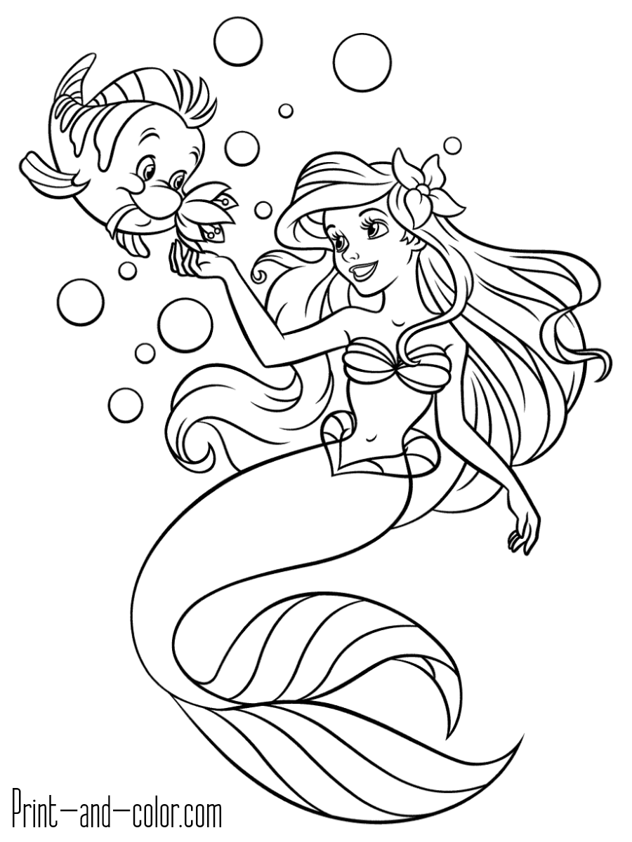 mermaid coloring images get this little mermaid coloring pages princess printable mermaid images coloring