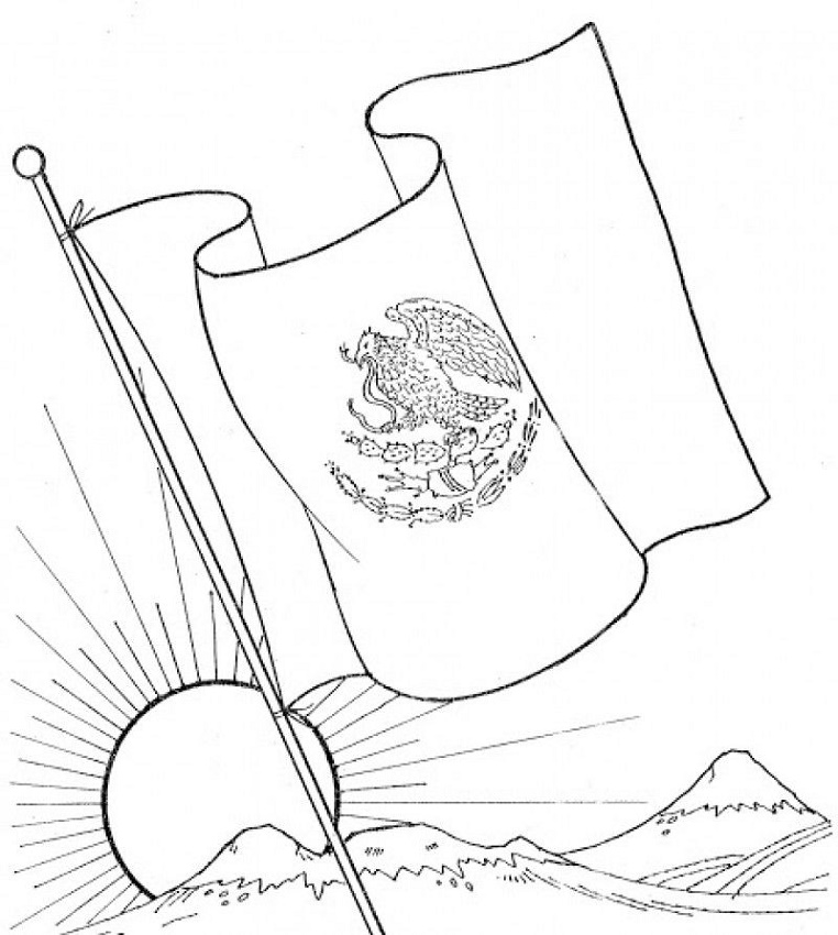 mexican flag coloring 23 best flags of the world coloring pages for kids mexican coloring flag