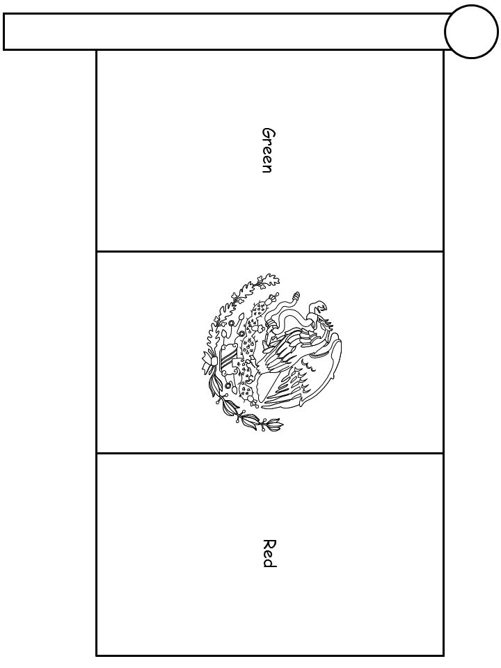 mexican flag coloring 58 stunning mexican flag coloring sheet axialentertainment mexican flag coloring