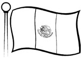 mexican flag coloring mexican flag coloring mexican coloring flag