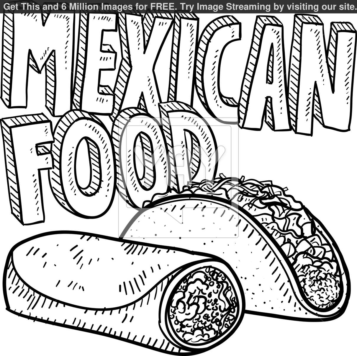 mexican flag coloring mexican flag drawing free download on clipartmag flag mexican coloring