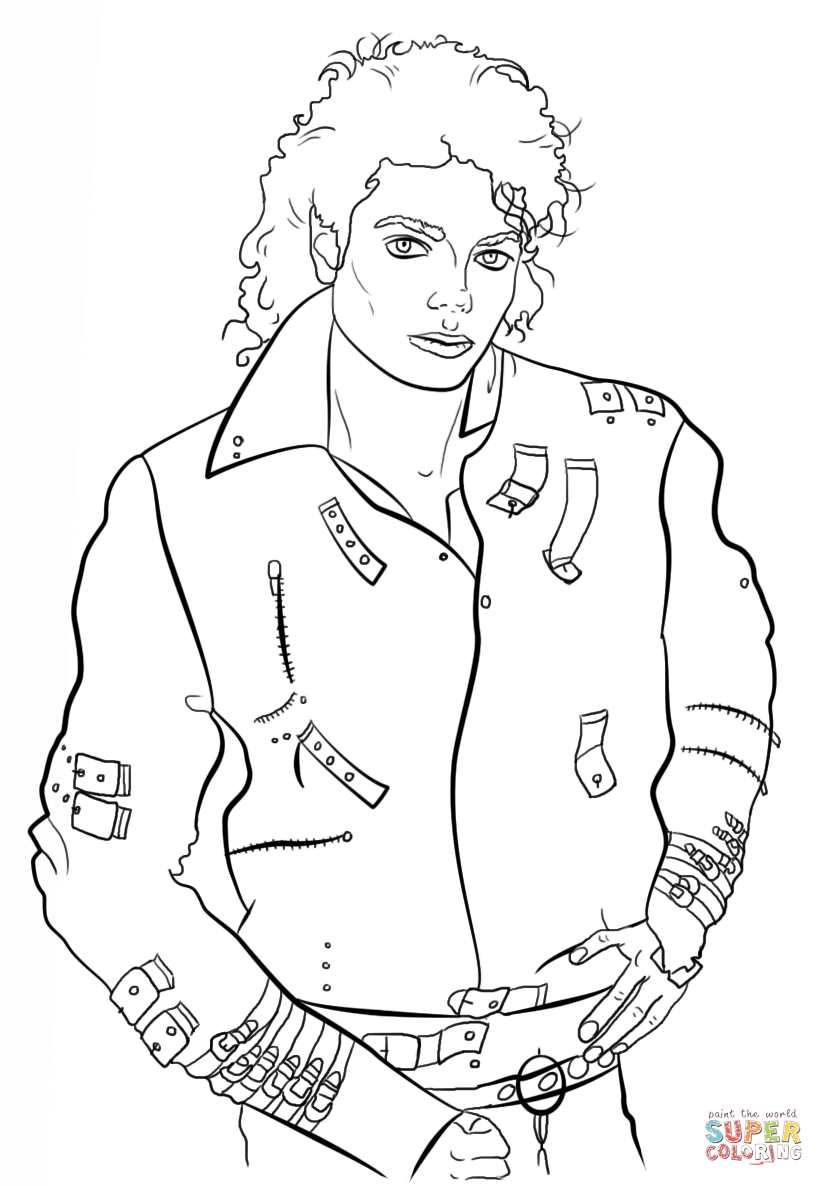 michael jackson coloring sheets michael jackson coloring pages free printable images coloring michael jackson sheets