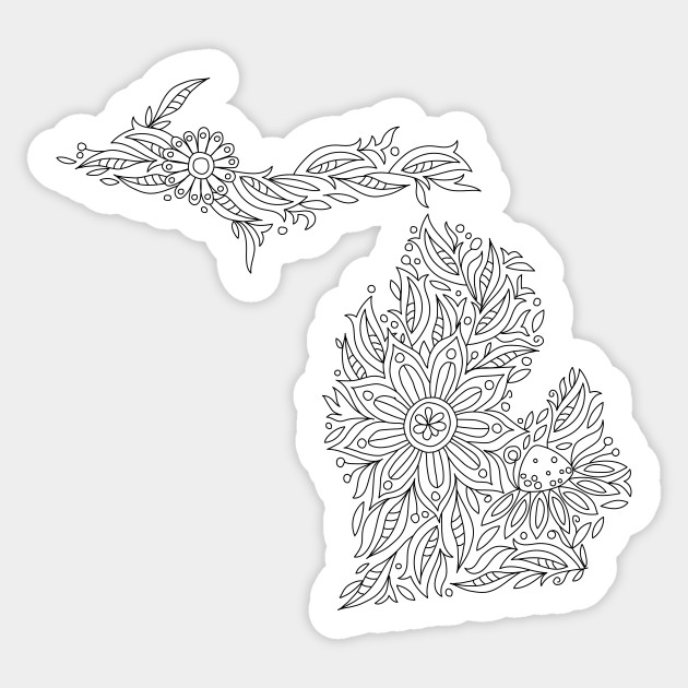 michigan state flower 50 state flowers coloring pages for kids flower state michigan