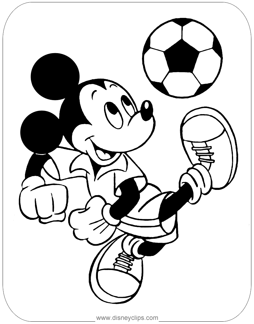 mickey mouse characters coloring pages mickey mouse friends coloring pages 6 disneyclipscom coloring characters mickey pages mouse