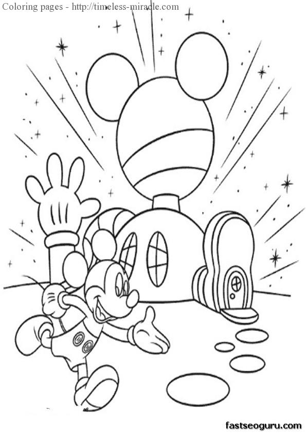 mickey mouse club house coloring pages mickey mouse club house coloring pages timeless miraclecom pages mouse house coloring club mickey