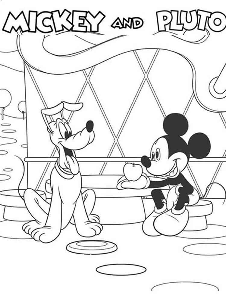 mickey mouse club house coloring pages mickey mouse clubhouse coloring pages for kids free pages house mouse coloring mickey club