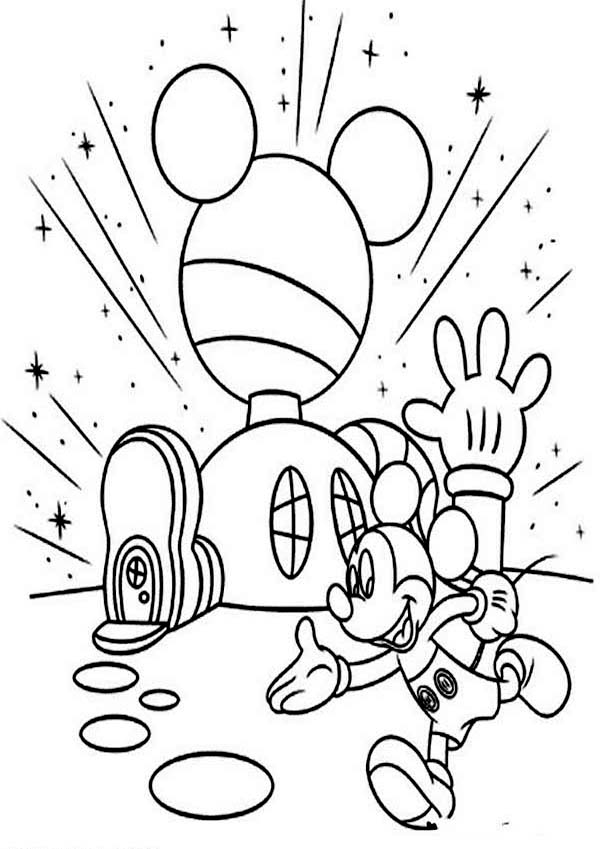 mickey mouse club house coloring pages mickey mouse clubhouse printable coloring pages timeless pages house club coloring mickey mouse