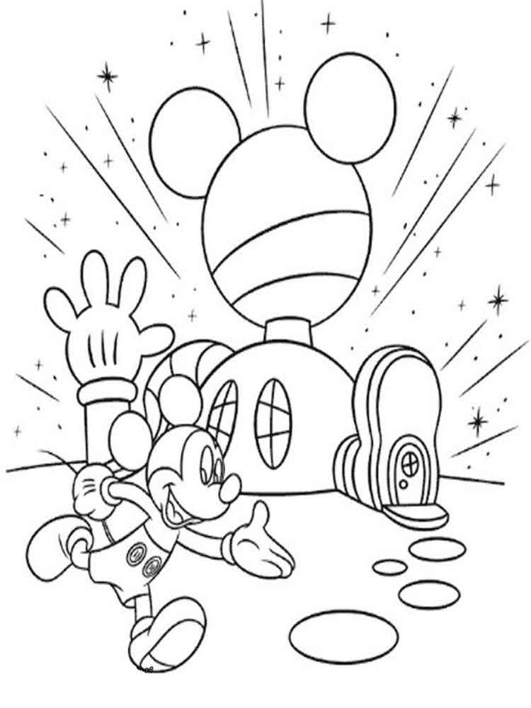 mickey mouse clubhouse coloring page mickey mouse clubhouse 2 free disney coloring sheets clubhouse coloring mickey page mouse