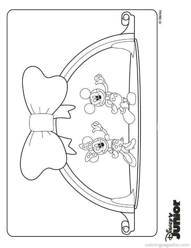 mickey mouse clubhouse coloring page mickey mouse clubhouse coloring pages 6 free printable mickey clubhouse coloring mouse page
