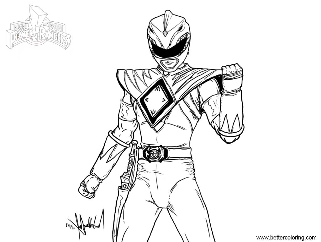 mighty morphin power rangers coloring pages mighty morphin power rangers coloring pages fan art free coloring pages rangers power mighty morphin