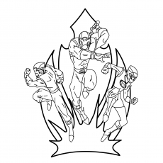 mighty morphin power rangers coloring pages mmpr rangers mighty morphin power rangers coloring page morphin mighty pages rangers coloring power
