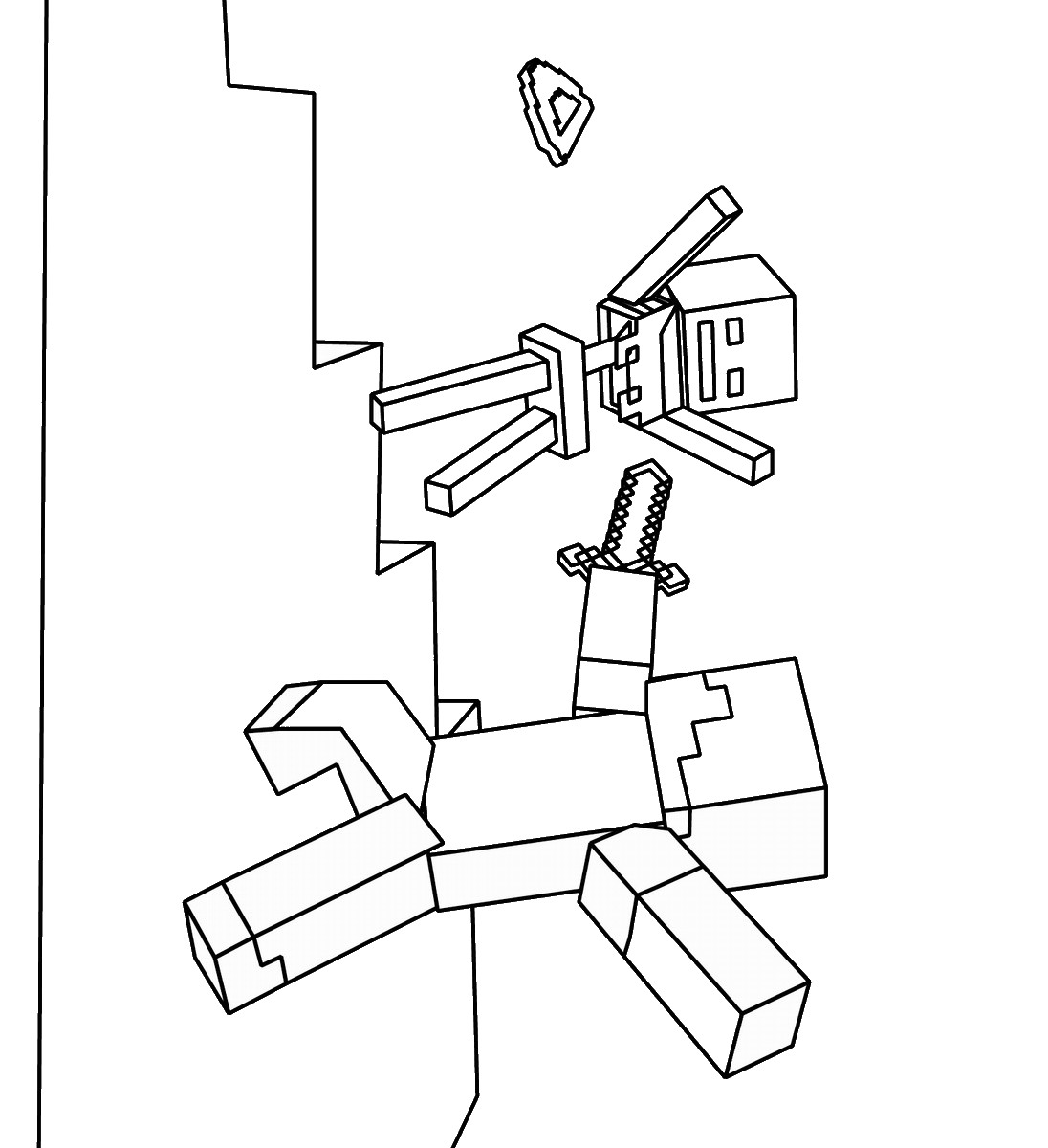 minecraft coloring to print minecraft coloring to print minecraft to print coloring