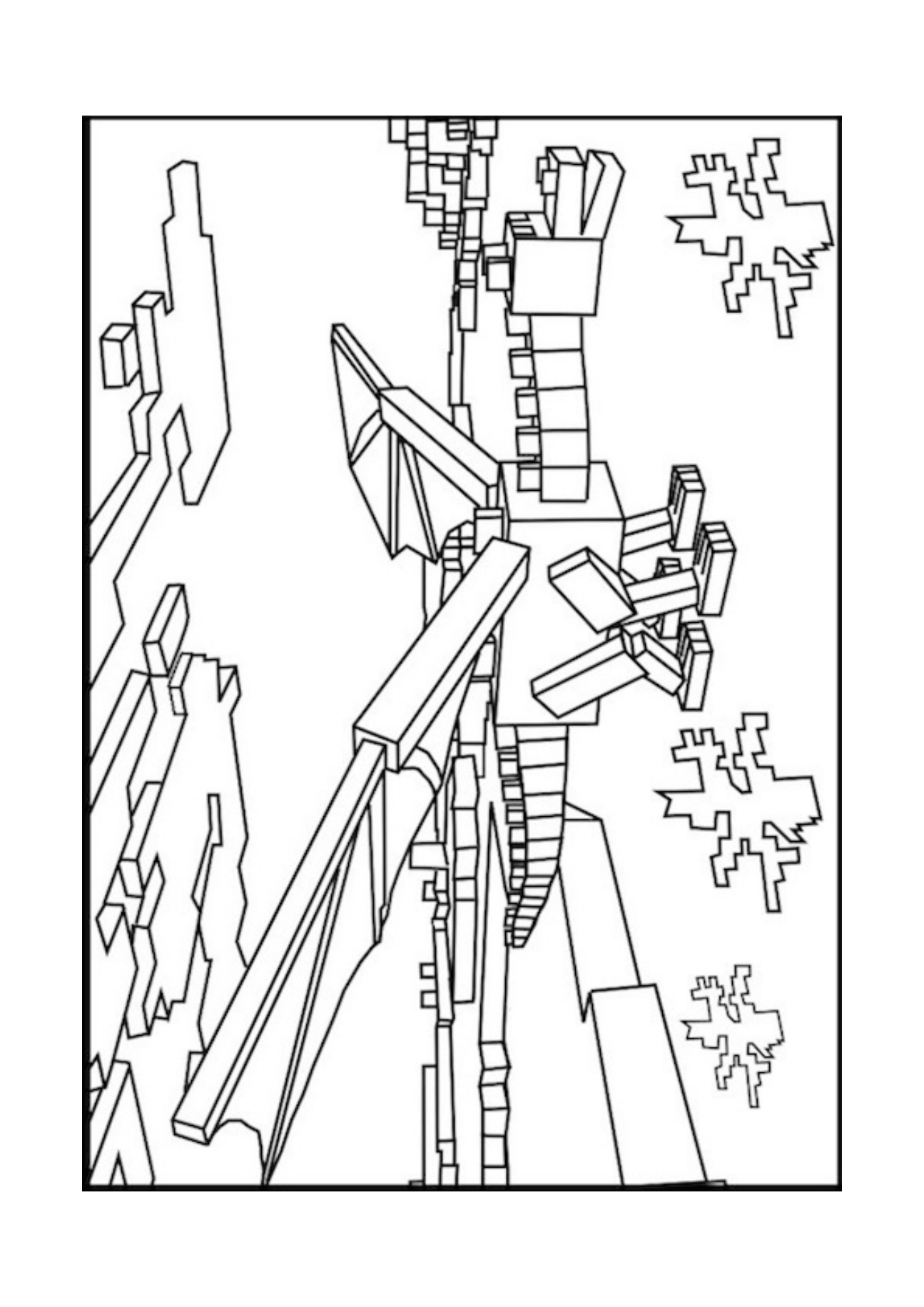 minecraft coloring to print printable minecraft coloring pages coloring home minecraft print coloring to