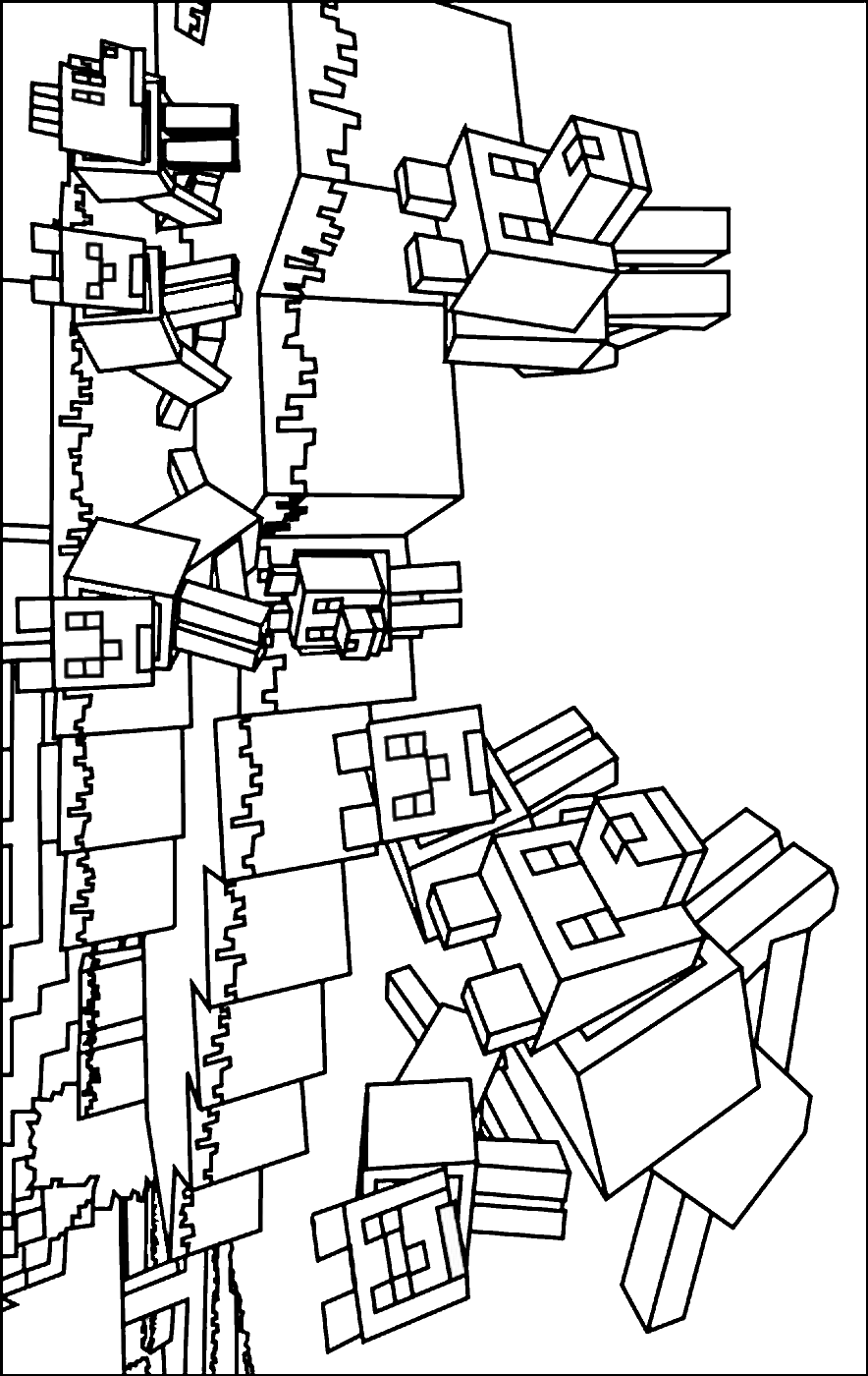 minecraft coloring to print printable minecraft coloring pages coloring home minecraft to print coloring