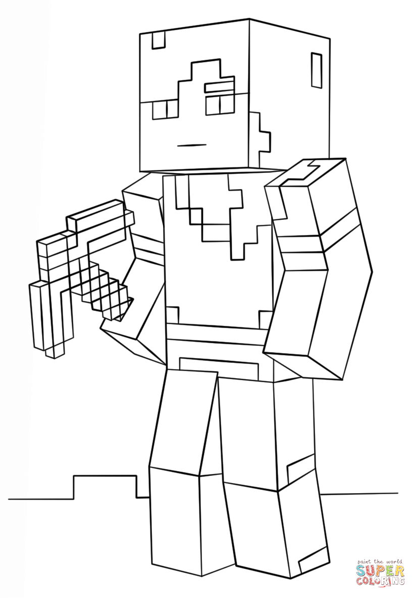 minecraft colour pages free printable minecraft coloring pages colour pages minecraft