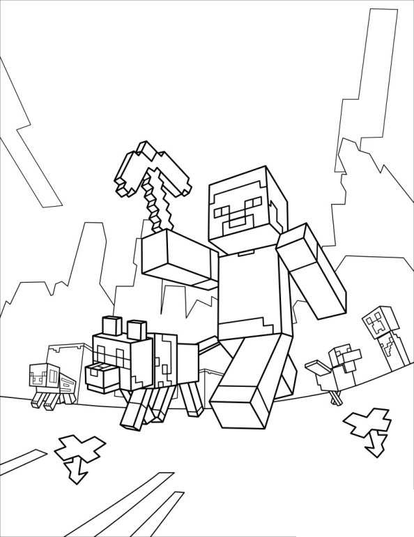 minecraft colour pages minecraft coloring pages coloring pages to download and pages minecraft colour