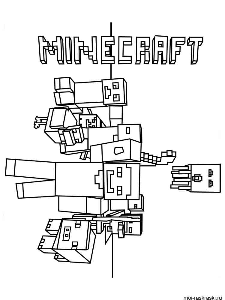 minecraft colour pages minecraft coloring zombies coloring page bubakidscom pages colour minecraft