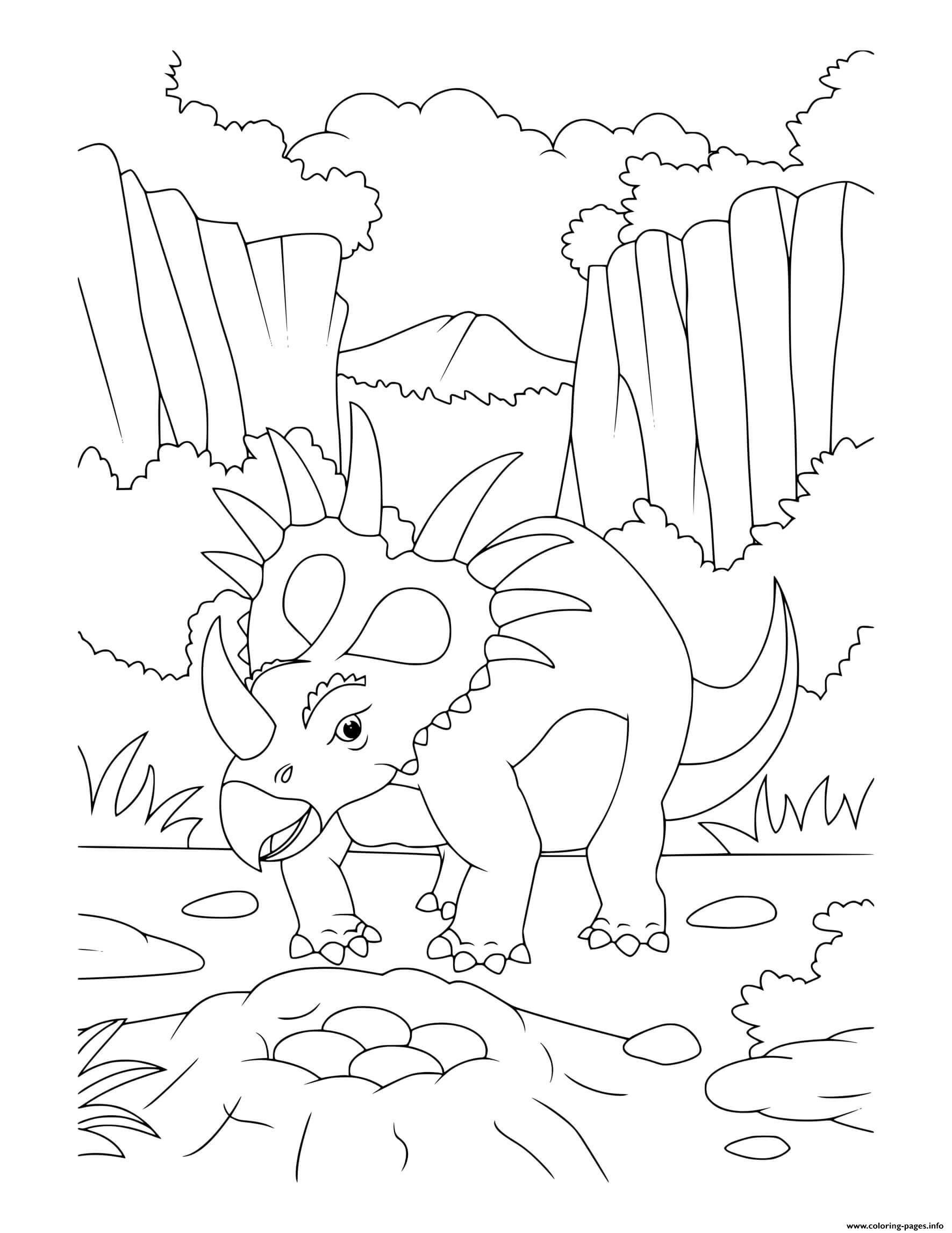minecraft dinosaur coloring pages triceratops free coloring page topcoloringpagesnet minecraft coloring dinosaur pages