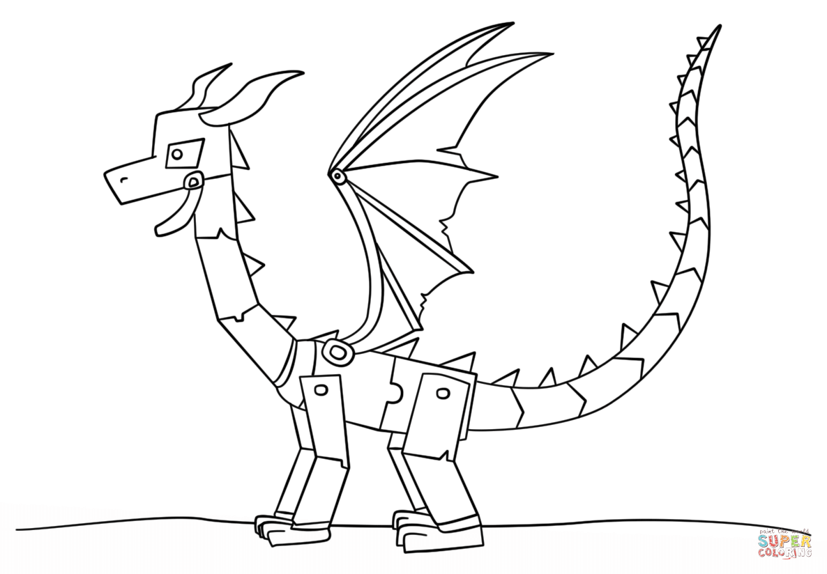 minecraft dragon coloring pages cool dragon coloring pages ideas minecraft coloring dragon pages coloring minecraft