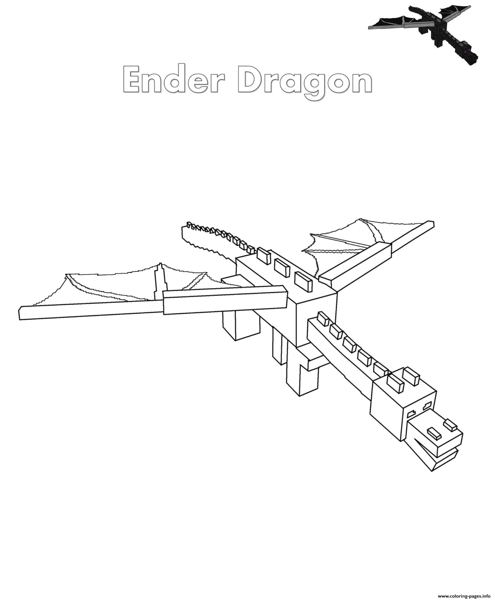 minecraft dragon coloring pages ender dragon coloring page youngandtaecom in 2020 dragon pages coloring minecraft