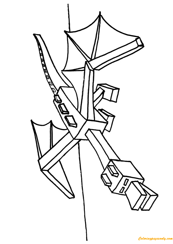 minecraft dragon coloring pages ender dragon coloring pages cartoons coloring pages minecraft coloring dragon pages