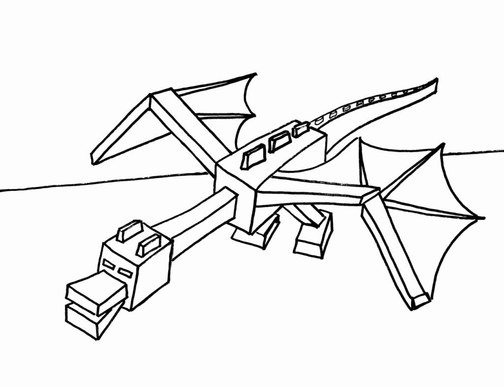 minecraft dragon coloring pages ender dragon kleurplaat minecraft pro minecraft coloring dragon pages