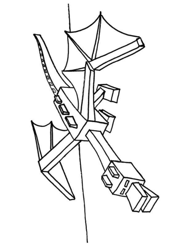 minecraft dragon coloring pages get this minecraft coloring pages ender dragon pages minecraft dragon coloring