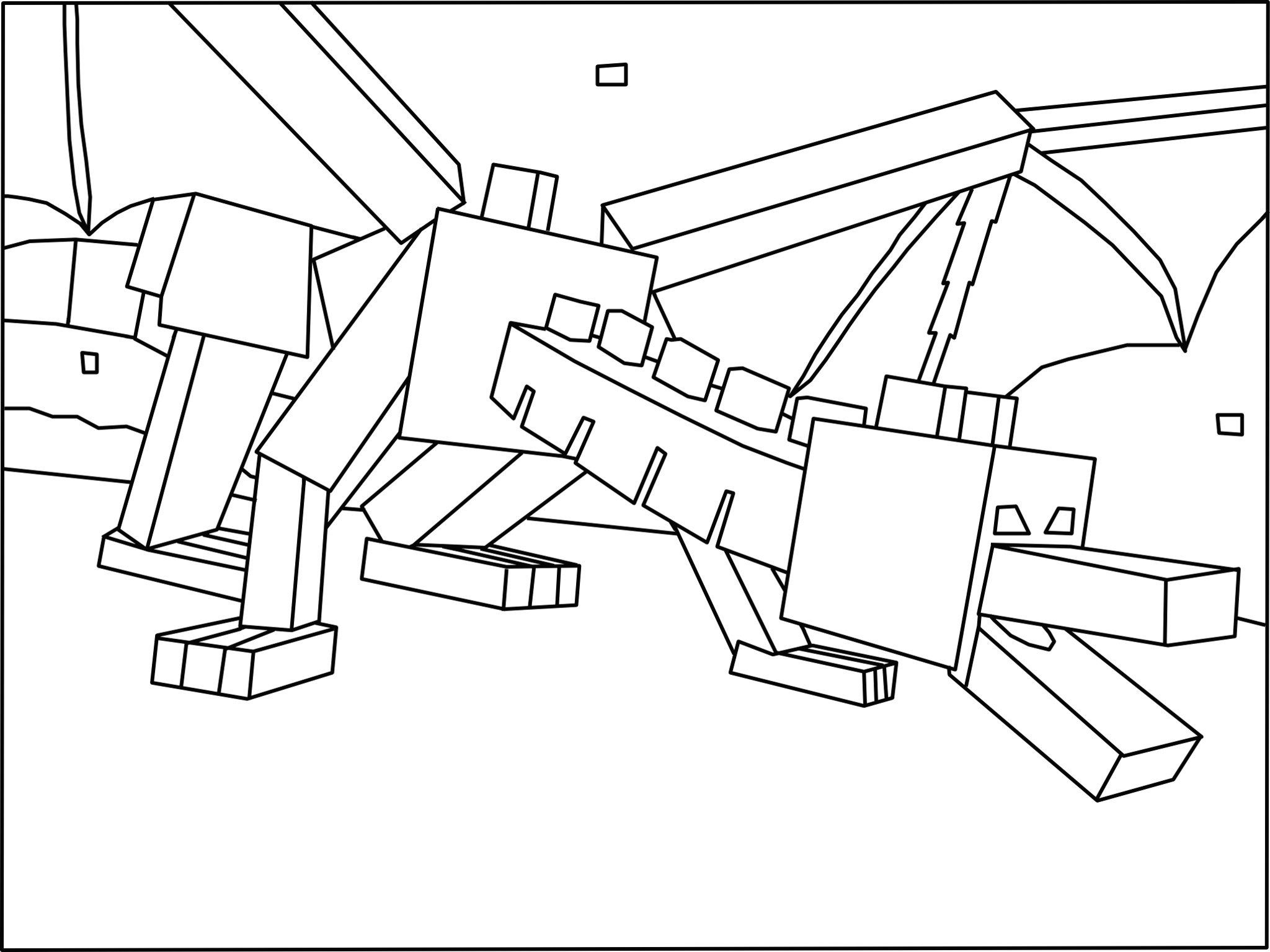 minecraft dragon coloring pages minecraft dragon coloring pages coloring home coloring pages minecraft dragon