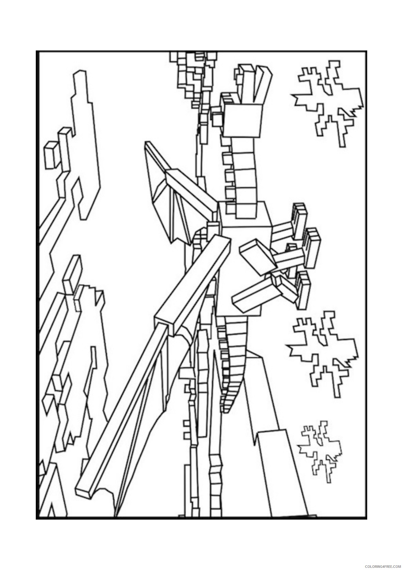 minecraft dragon coloring pages minecraft dragon coloring pages coloring home dragon coloring pages minecraft