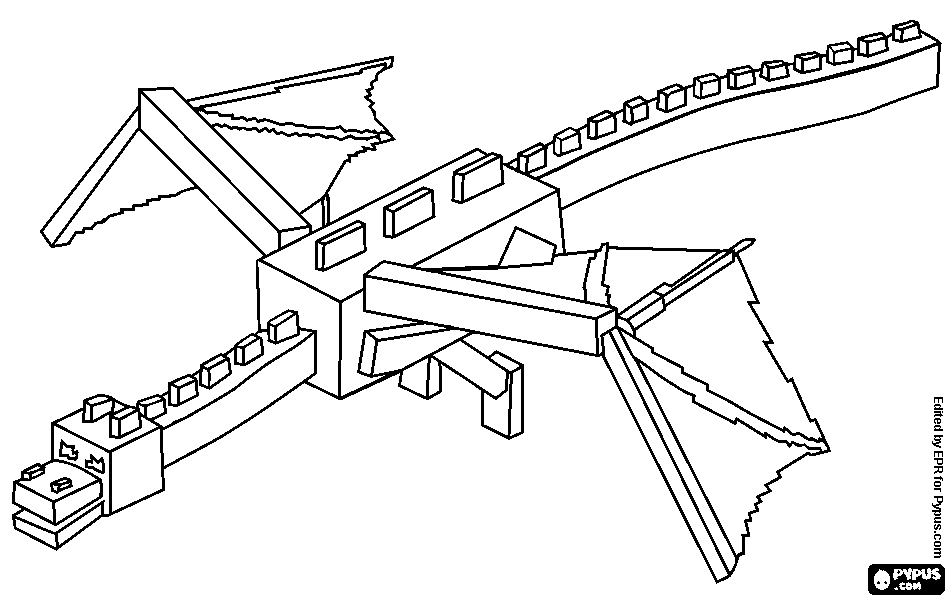 minecraft dragon coloring pages pin på coloring pages misha minecraft coloring dragon pages