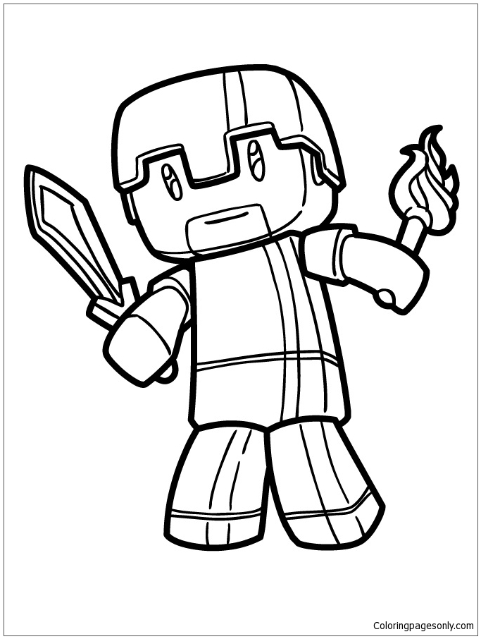 minecraft herobrine coloring pages minecraft 12 de beste kleurplaten herobrine coloring minecraft pages