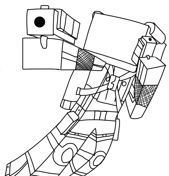 minecraft herobrine coloring pages minecraft dragon coloring pages at getdrawings free download herobrine minecraft pages coloring