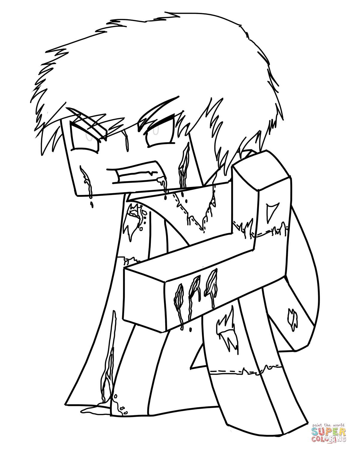 minecraft herobrine coloring pages minecraft logo coloring sheet coloring pages herobrine minecraft coloring pages