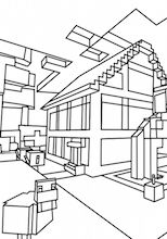 minecraft mansion coloring pages coloring minecraft pages tnt 2020 Раскраски для mansion coloring pages minecraft